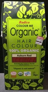 Radico Organic Henna Colour Auburn Red
