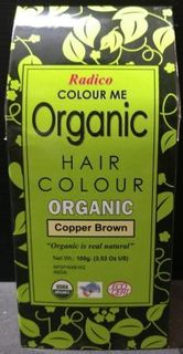 Radico Organic Henna Colour Copper Brown