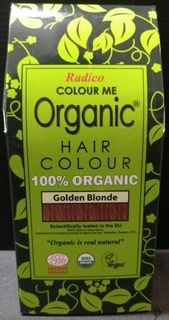 Radico Organic Henna Colour Golden Blonde