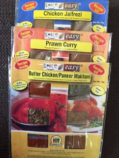 Indian Spring Feast Recipe Kit  #: BcPcCj