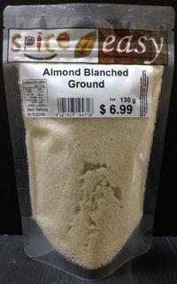 Almond Blanched Ground 130g