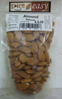 Almond Natural 180g