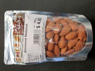 Almond natural 100g