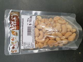 Cashew Roasted Salted 180g