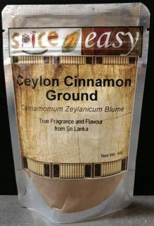 Ceylon Cinnamon Ground 50g