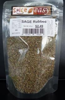 Sage rubbed 40g