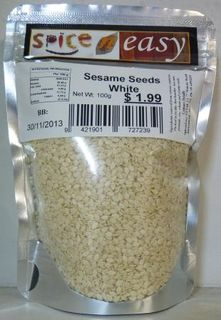 Sesame Seeds White 80g