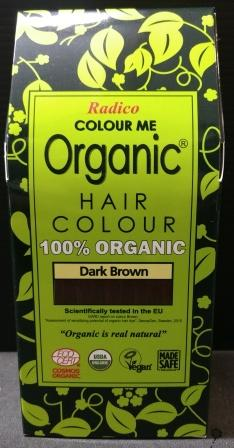 Radico Organic Henna Colour Dark Brown