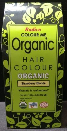 Radico Organic Henna Strawberry Blonde
