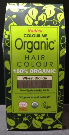Radico Organic Henna Colour Wheat Blonde