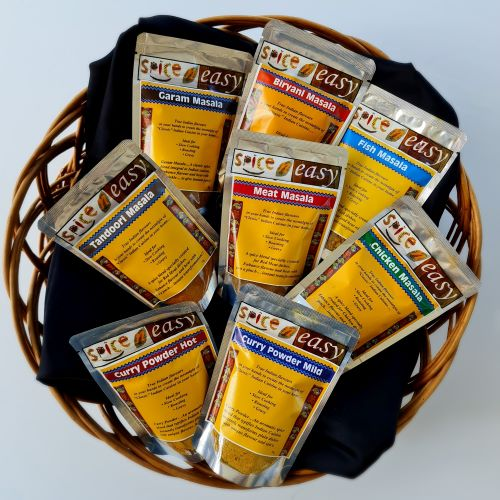 Indian Masalas Spice Blends pack