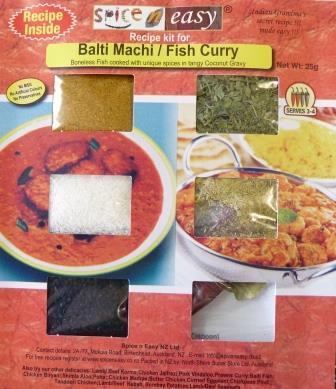 Balti Fish Recipe Kit
