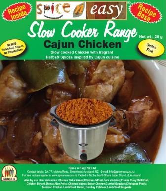 SpicenEasy Cajun Chicken Recipe Kit