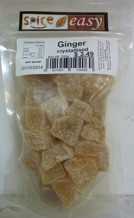 Ginger Crystallised