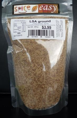 LSA ( Linseed/Sunflower/Almond) ground