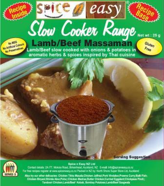 Massaman Lamb or Beef Slow Cooker Recipe Kit