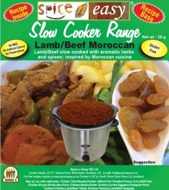Moroccan Lamb/Beef Slow Cooker Recipe Kit