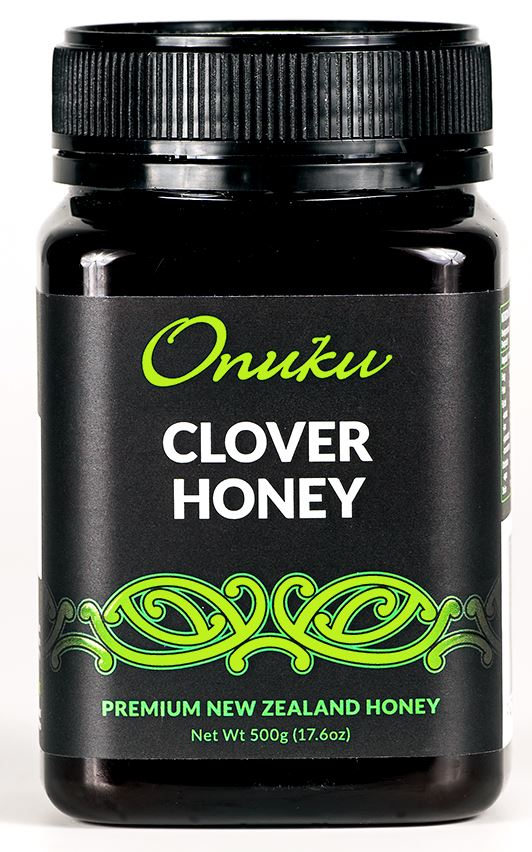 Onuku Clover Honey 500g