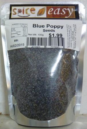 Blue Poppy Seeds 100g