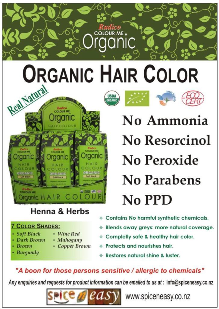 Radico ColourMe Organic Hair Colour